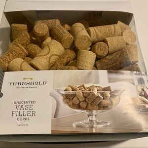 THRESHOLD Unscented Vase Filler Corks - 79 pcs